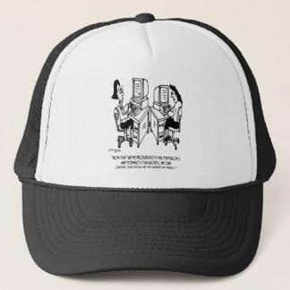 Security Cartoon 4348 Trucker Hat