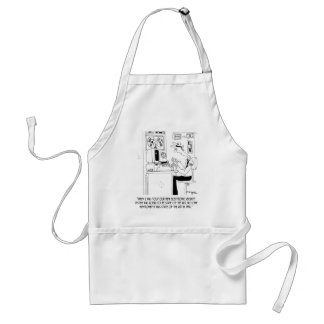 Security Cartoon 8233 Standard Apron