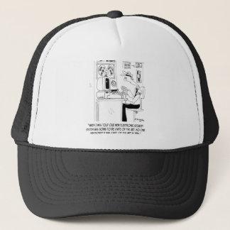 Security Cartoon 8233 Trucker Hat