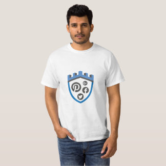 Security Castle Social Media T-Shirt