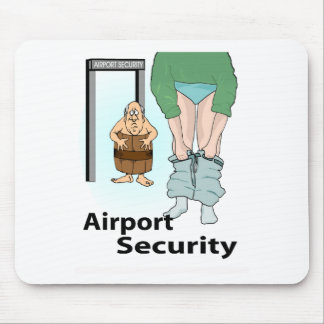 Security Check Mouse Pad