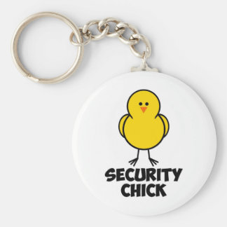 Security Chick Keychain