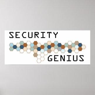 Security Genius Poster