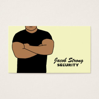 Security Guard Business Cards