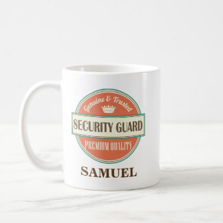 Security Guard Personalized Office Mug Gift