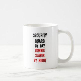 Security Guard Zombie Slayer Coffee Mug