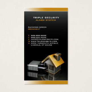 Security Insurance Business Card