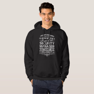SECURITY MANAGER HOODIE