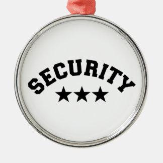 Security Metal Ornament