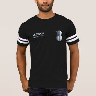 Security Police Shirt Thin Blue Line Shield