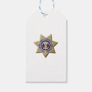 Security Special Officer Gift Tags