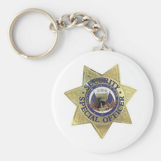 SECURITY SPECIAL OFFICER KEY CHAIN