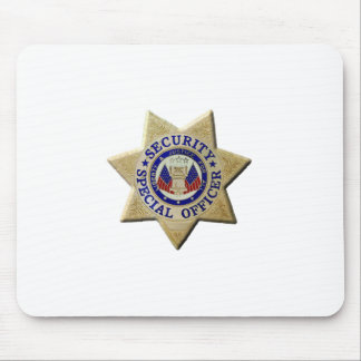 Security Special Officer Mouse Pad