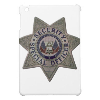 Security Special Officer Silver Case For The iPad Mini