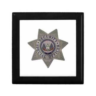 Security Special Officer Silver Gift Box