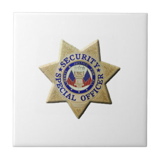 Security Special Officer Tile