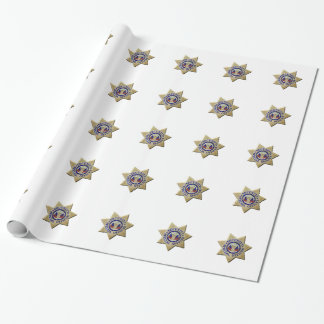 Security Special Officer Wrapping Paper