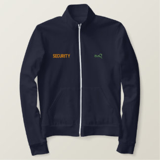Security Uniform Track Jacket