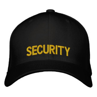 Security Yellow and Black Hat