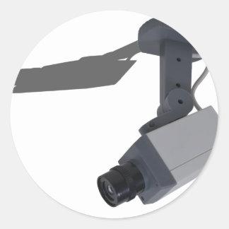 SecurityCamera032911 Round Sticker