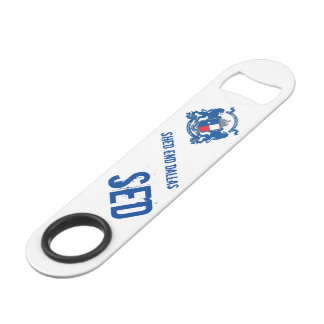 SED Bottle Opener with Spinner Ring Bar Key