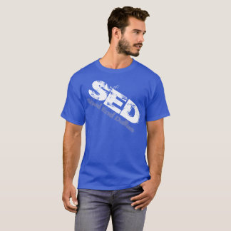 SED Graphic distorted Shirt