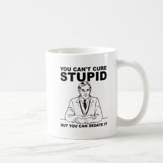 Sedate Stupid Funny Mug