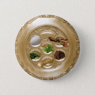 Seder Plate 2 Inch Round Button