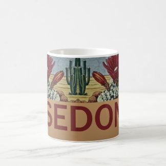 Sedona Arizona and Cactus Coffee Mug