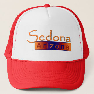 Sedona Arizona in Gold Hat