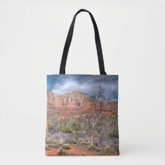 Sedona Arizona red rock landscape Tote Bag