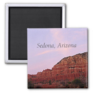 Sedona, Arizona red rocks Magnet