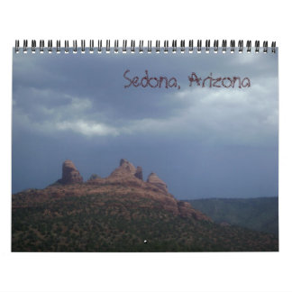 Sedona, Arizona Wall Calendar
