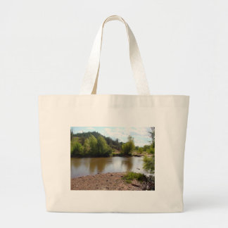 Sedona, AZ River Large Tote Bag