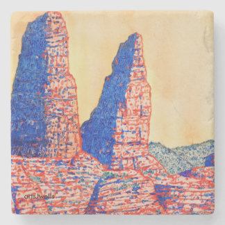 SEDONA Calls to You Stone Coaster