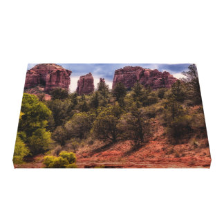 Sedona Cathedral Rock Landscape Canvas Print