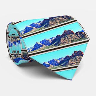 Sedona In Blue Men's Tie