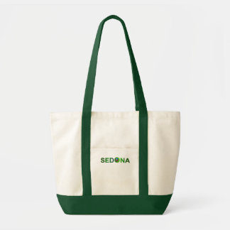 Sedona in Green Tote Bags