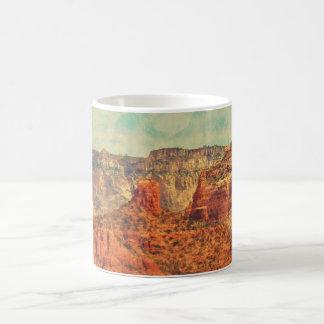 Sedona in Grunge Coffee Mug