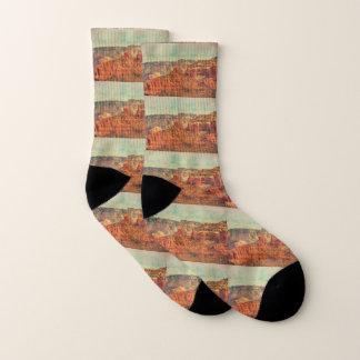 Sedona in Grunge Socks