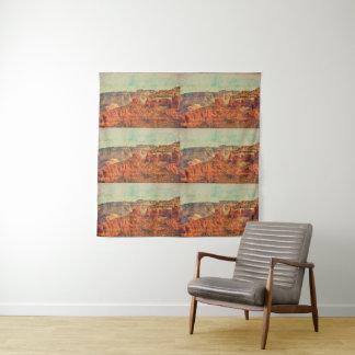 Sedona in Grunge Tapestry