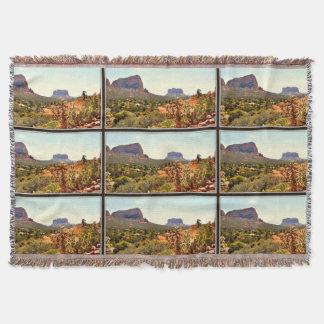 Sedona Landscape Throw Blanket