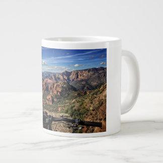 Sedona Mountain Bike Dreaming Large Coffee Mug
