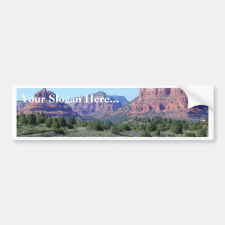 Sedona Mountains Bumper Sticker
