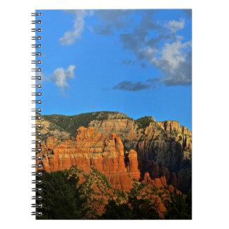Sedona Mountains Notebook