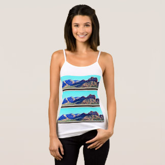 Sedona Mountains Women's Bella Spaghetti Strap Top