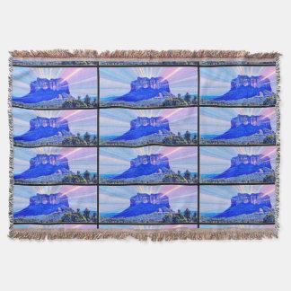 Sedona Pop Art Throw Blanket