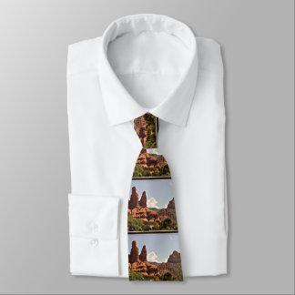 Sedona Red Rock Landscape Men's Tie