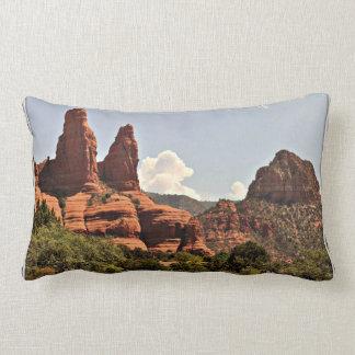 Sedona Red Rock Poly Lumbar Pillow