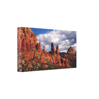 Sedona Red Rocks Wrapped Canvas